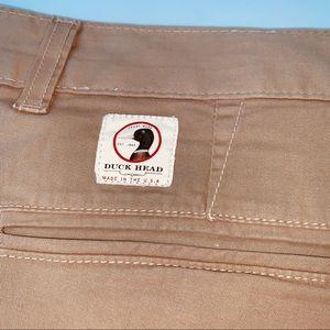 Men's 38 Duckhead beige khaki chino shorts